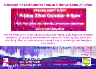 a_gorgeous_exhibition_flyer_levenshulme_manchester