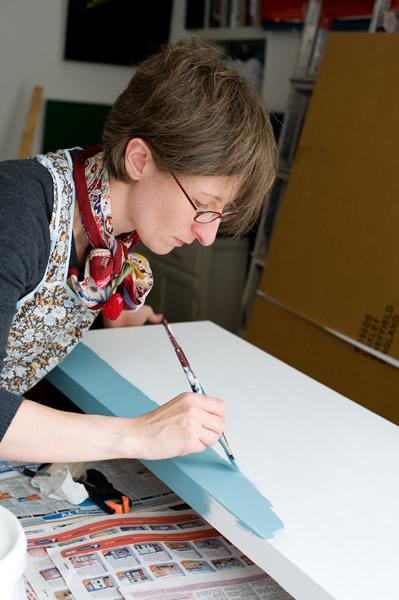 Artist Emily Pitts