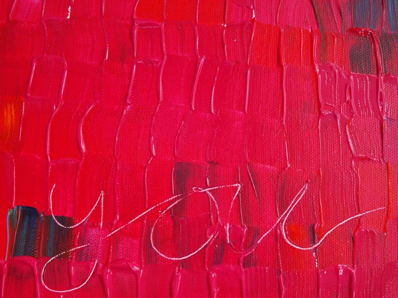 I do Love you artwork Close-up