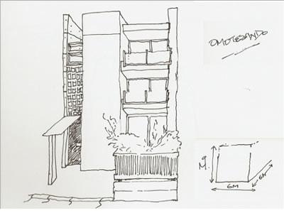 omotesando_small_house_pen_sketch